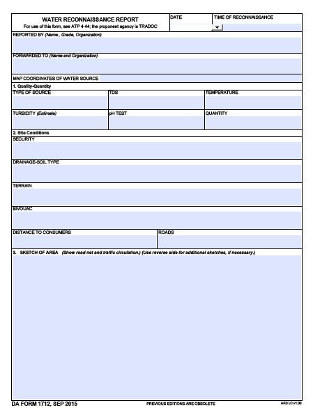 Download Fillable da Form 1712