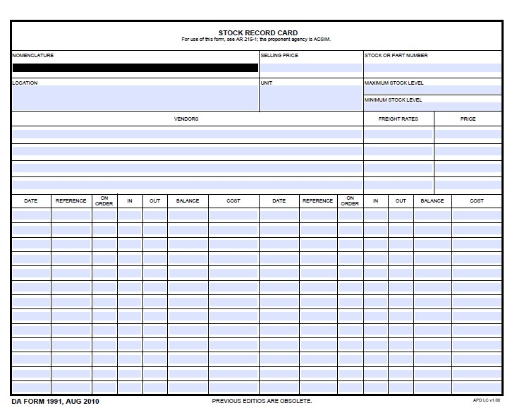 Download Fillable da Form 1991